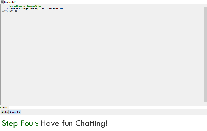 How to chat in the BurntSticks IRC (and our discord server invite) 411