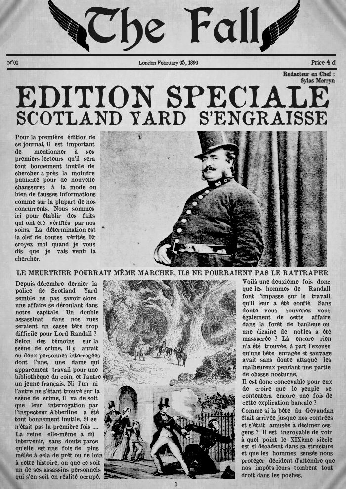 The Fall - N°1 Scotland Yard s'engraisse (EDITION SPECIALE) Editio10