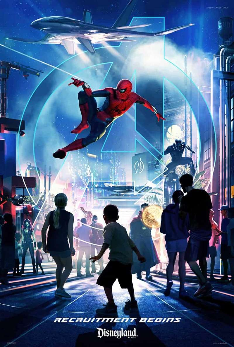[News] Extension du Parc Walt Disney Studios avec Marvel, Star Wars, La Reine des Neiges et un lac (2020-2025) - Page 6 Spider10