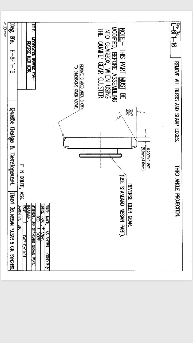 Quaife gearbox modifications  00f1d310
