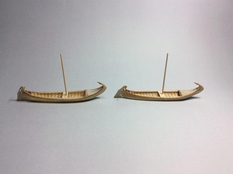 "Deux ""moliceiros"" en miniature 6d51d210"
