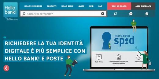 HELLO BANK regala SPID (Sistema Pubblico di Identità Digitale) per 24 mesi [richiesta entro il 31/12/2019] 22210