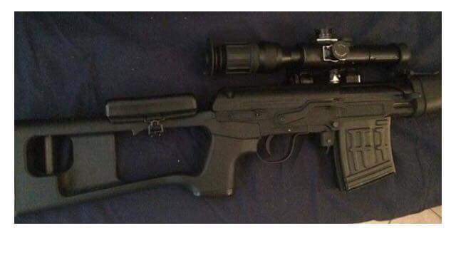 Vente SVD Dragunov AEG King arms UPGRADE  0ce5f510