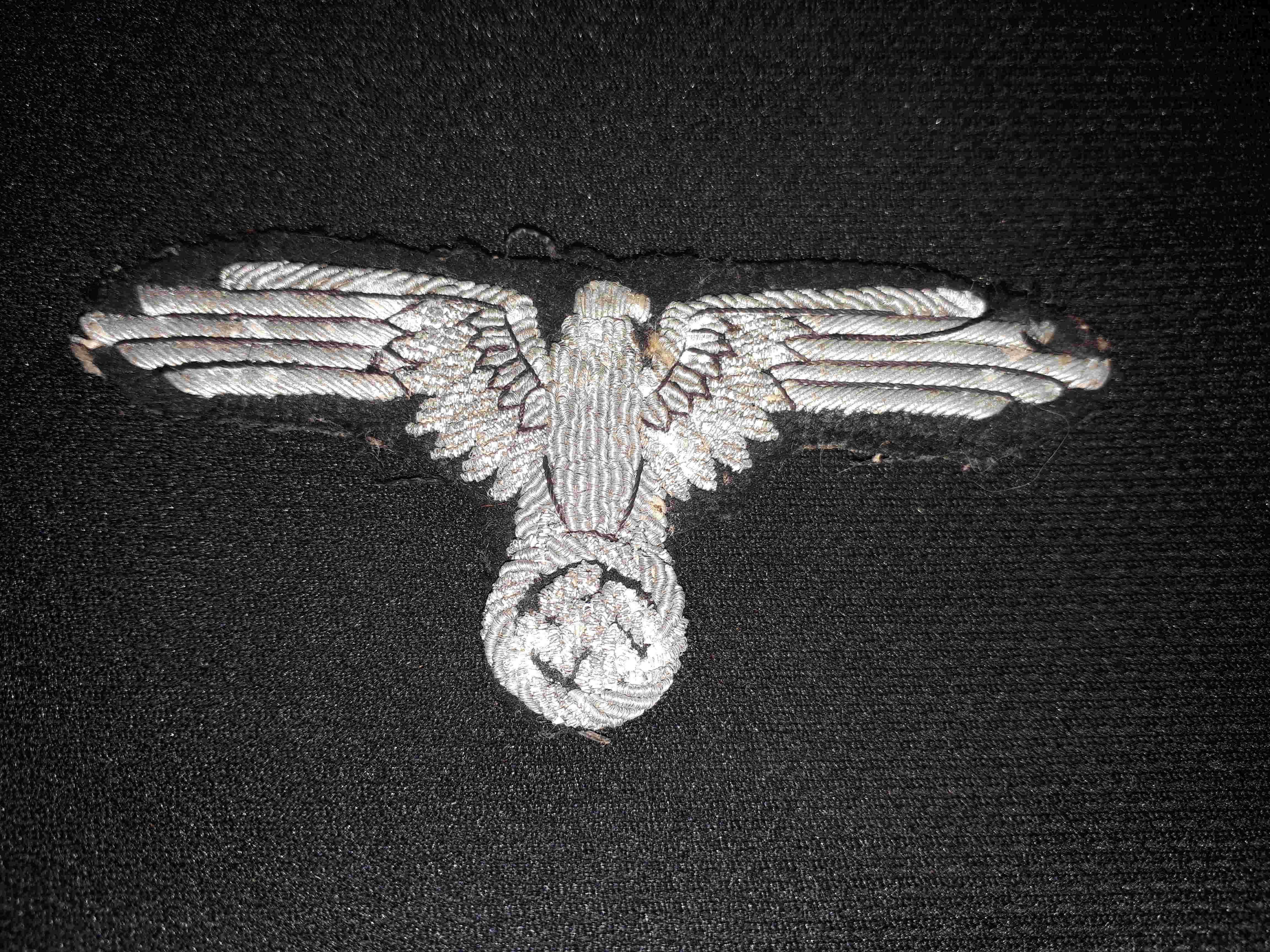 Aigle de bras Officier Waffen 20180611