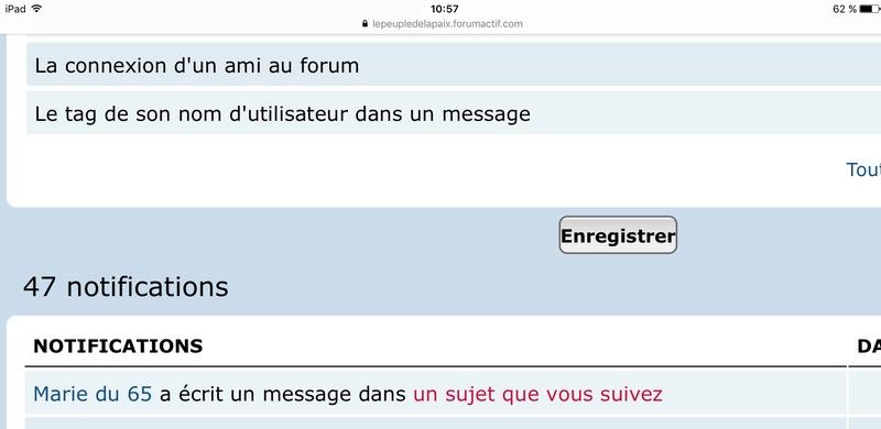Pourquoi je ne peux pas accéder à un message ?  Img_6728
