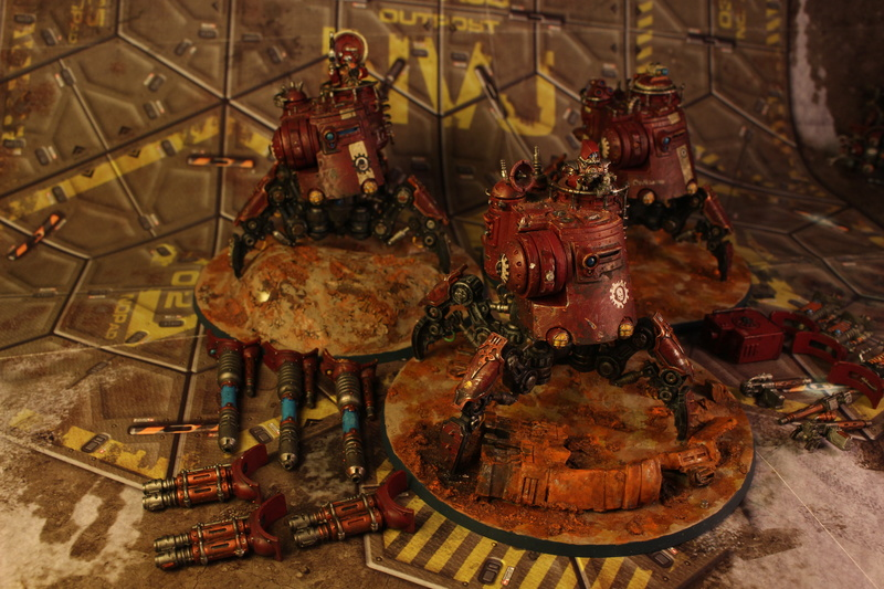 Armée Adeptus Mechanicus + Agents Impériaux Img_3524