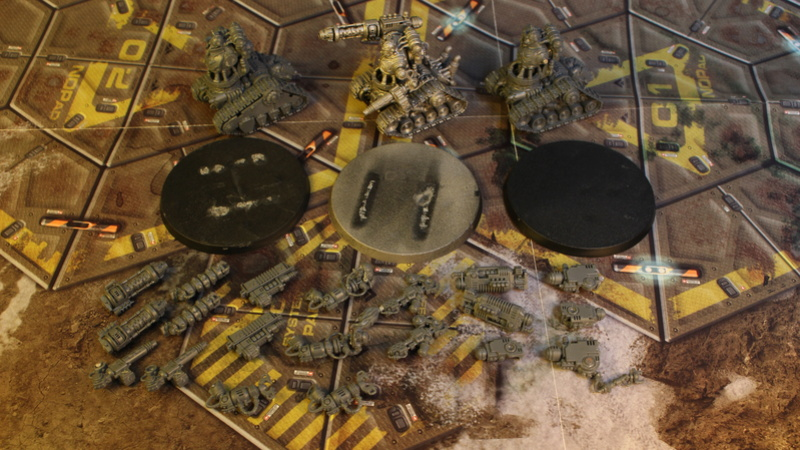 Armée Adeptus Mechanicus + Agents Impériaux Img_3527