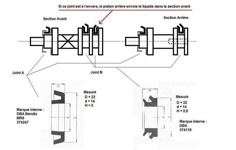 soucis frein : bocal 1 se rempli, bocal 2 se vide ?? - Page 2 Joint110