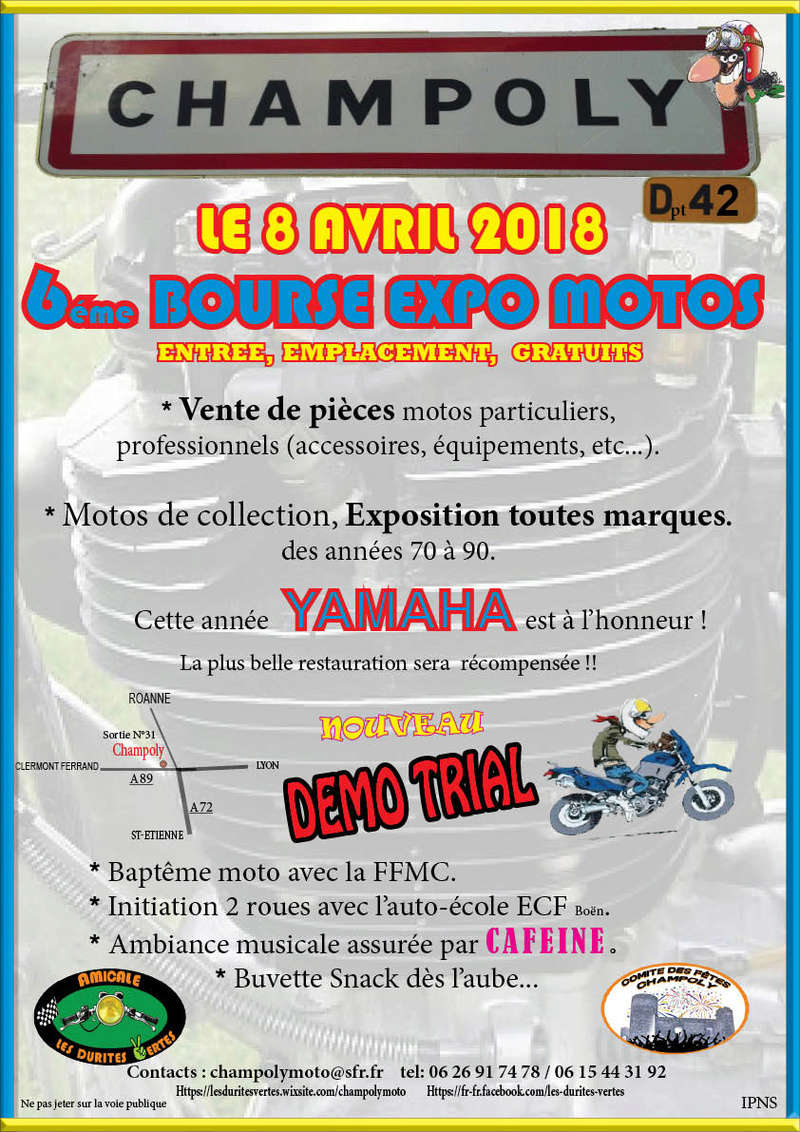 expo yam Champoly 8/04/18 Affich10