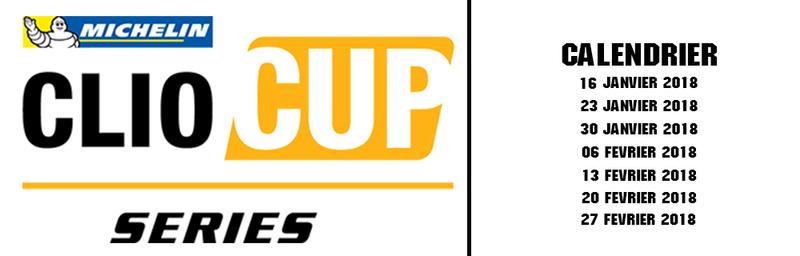 Clio Cup T2G  2018 Calend10