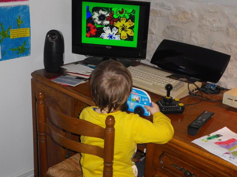 Fan du C64 à leur âge! Imgp0010