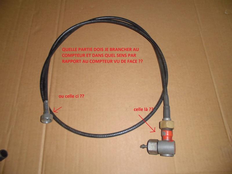 Comment replacer un câble de compteur sur un Renault Super 5 D Cimg1823