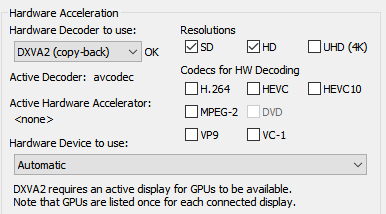 Is my hardware acceleration enabled? 2018-010
