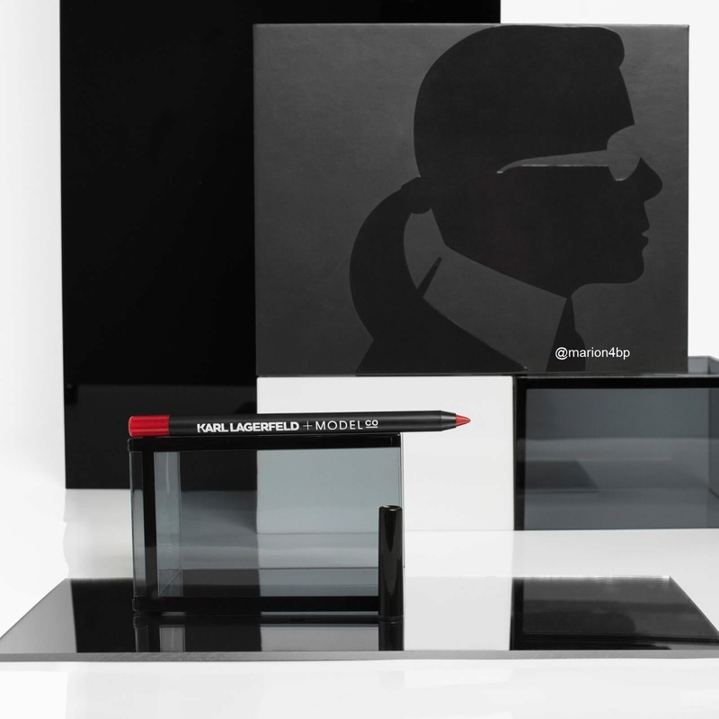 Glossybox Edition Limitée Karl LAGARFELD + MODELCO Glossy12