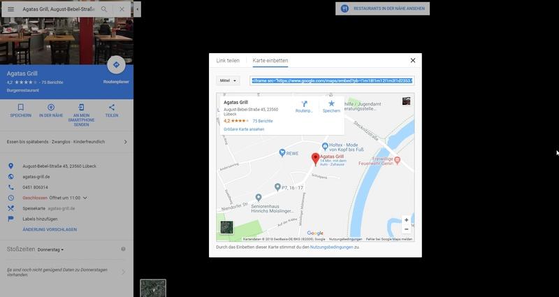Google Map in deinen Beitrag einfügen 310