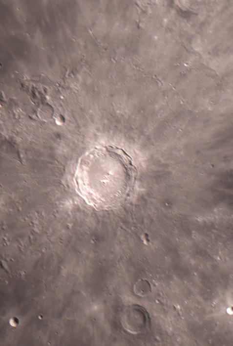 La Mer des Humeurs, et quelques gros plans lunaires du 31 octobre Copern10