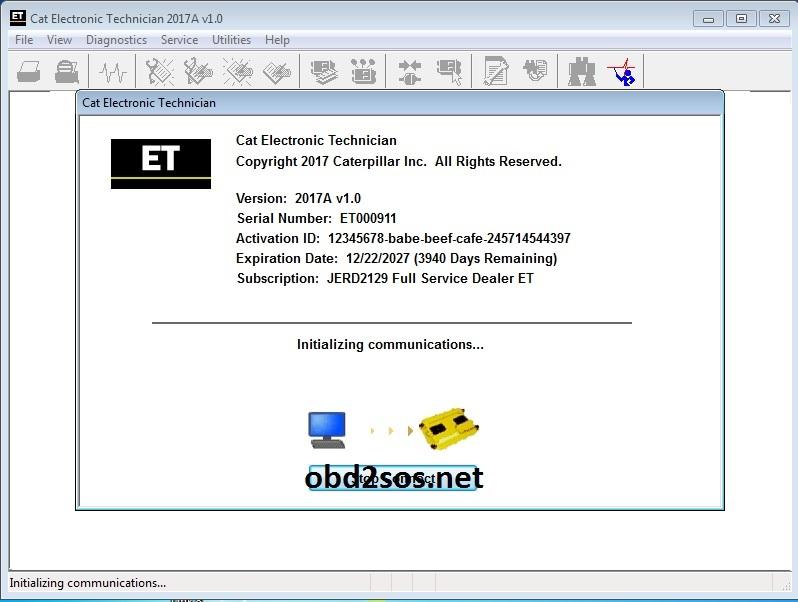 Cat Caterpillar ET 2017A V1.0 Cat_2010
