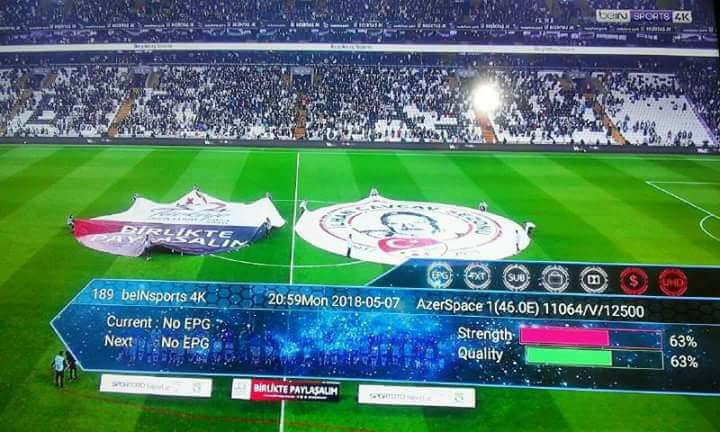 BEINSPORT 4K - TURKSAT 42E 31957610