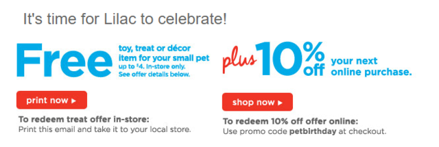 Free birthday gift for your mouse! (Or other pets!) Partpi10