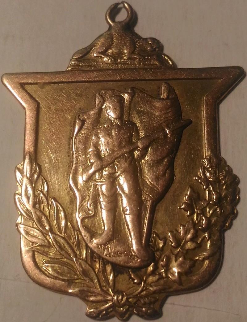 Great War Homecoming Pendant / Medal P_201810