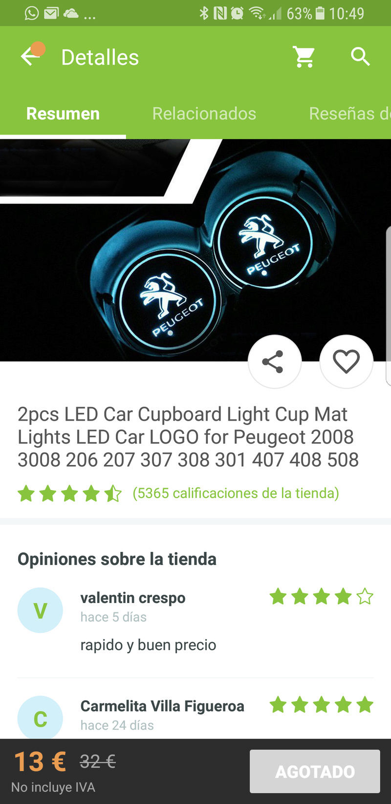 Posavasos led. Que os parece? Screen12