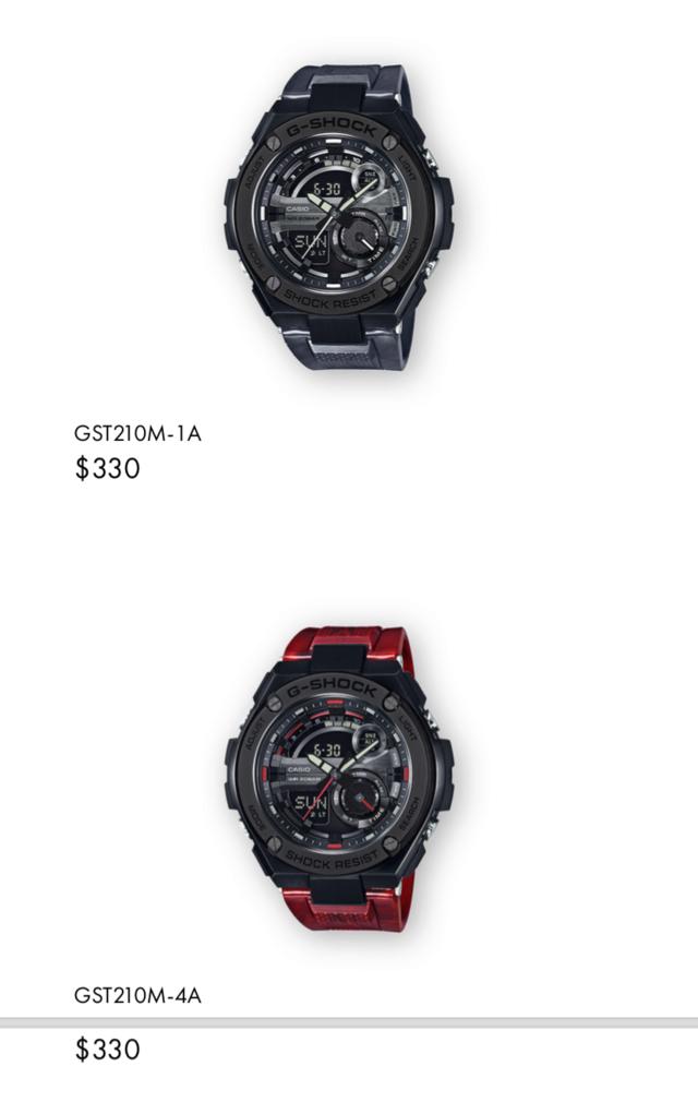 Casio GST-W310D-1AER : la G-Steel plus compacte - Page 2 Captur26