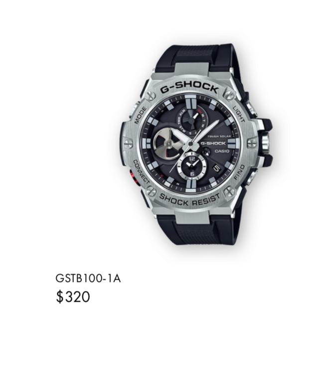 Casio GST-W310D-1AER : la G-Steel plus compacte - Page 2 Captur30