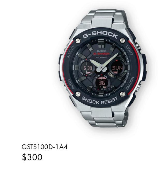 Casio GST-W310D-1AER : la G-Steel plus compacte - Page 2 Captur32