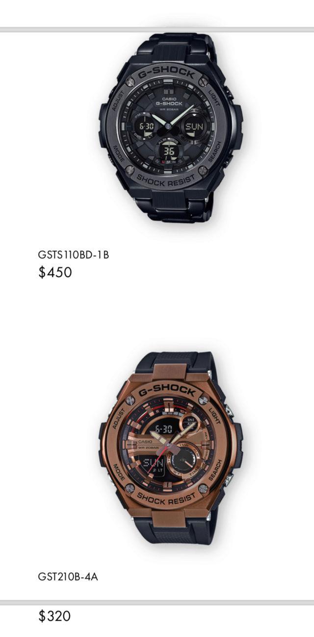 Casio GST-W310D-1AER : la G-Steel plus compacte - Page 2 Captur33
