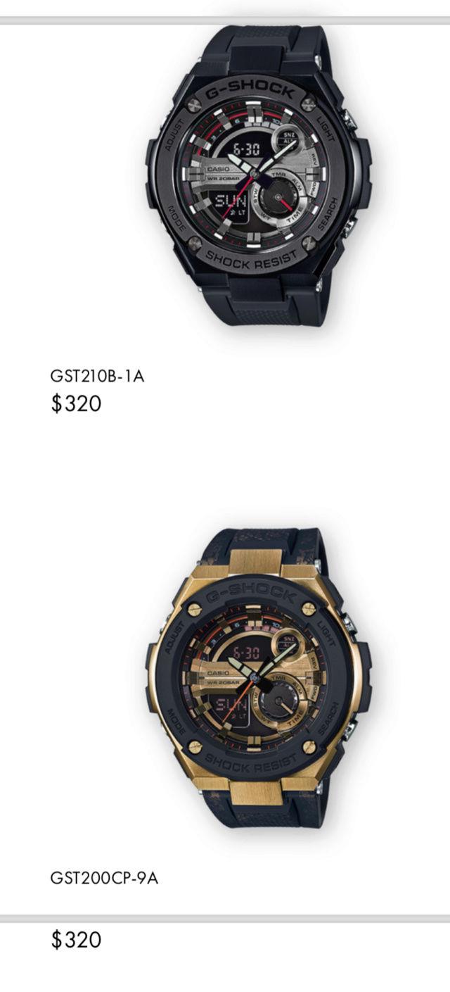 Casio GST-W310D-1AER : la G-Steel plus compacte - Page 2 Captur34