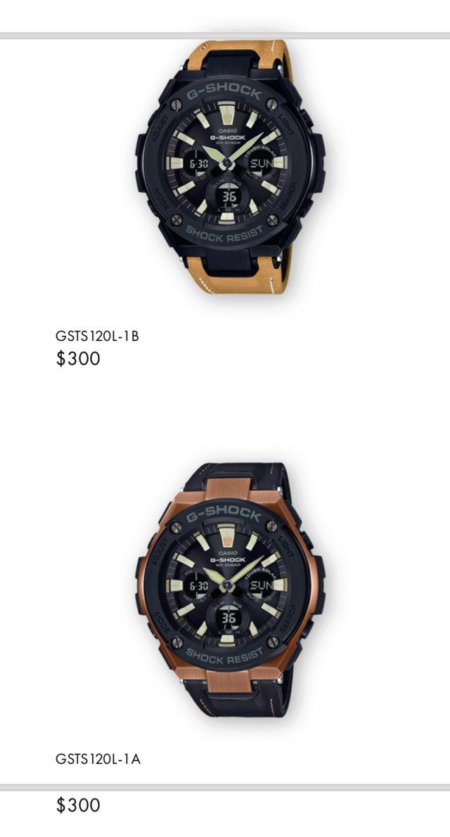 Casio GST-W310D-1AER : la G-Steel plus compacte - Page 2 Captur36