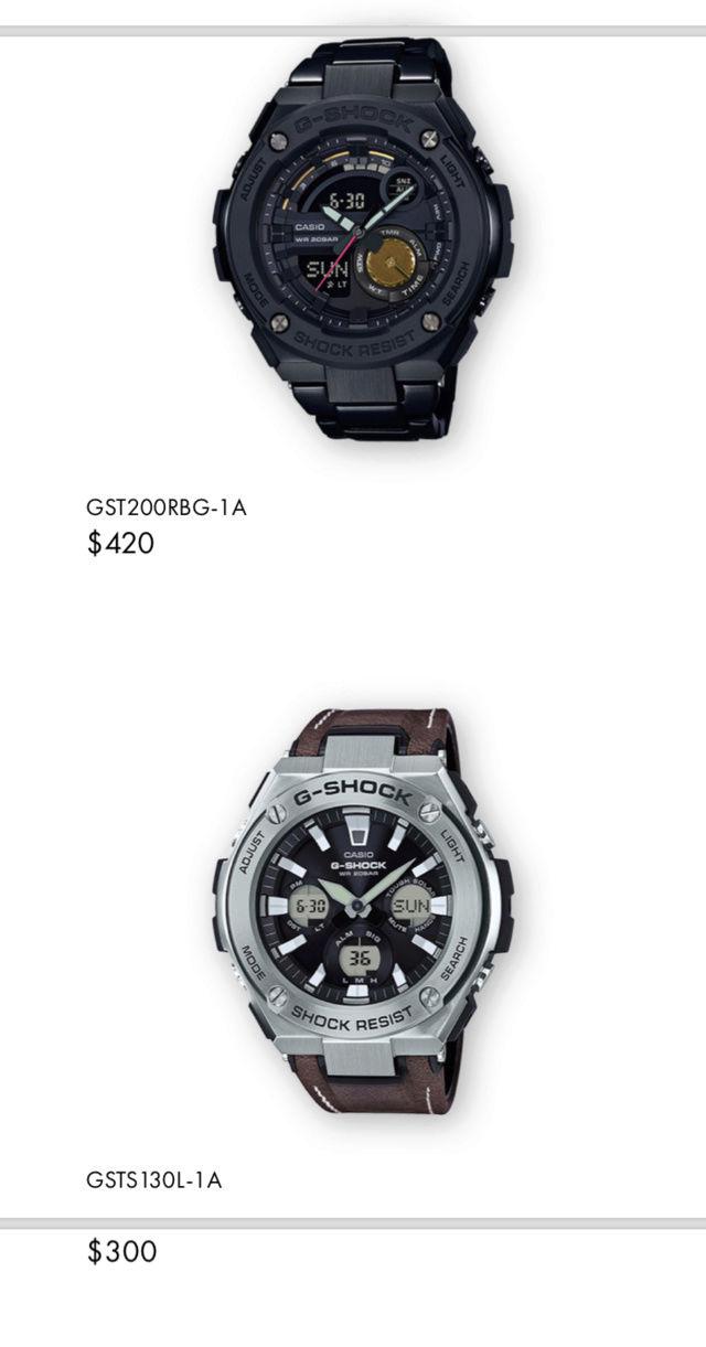 Casio GST-W310D-1AER : la G-Steel plus compacte - Page 2 Captur37