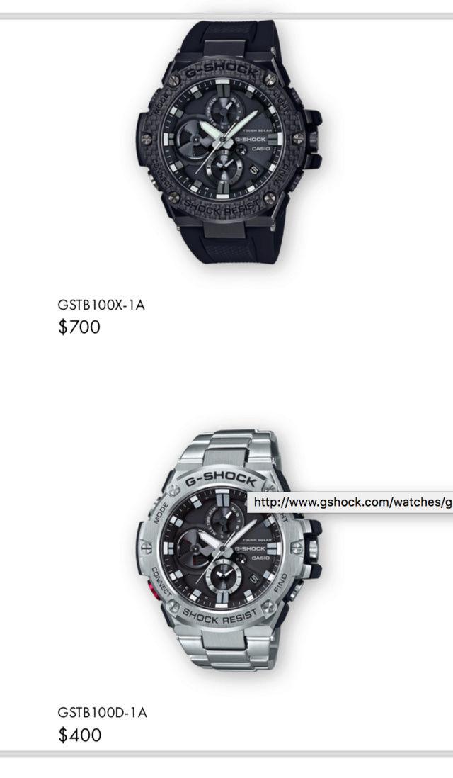 Casio GST-W310D-1AER : la G-Steel plus compacte - Page 2 Captur40
