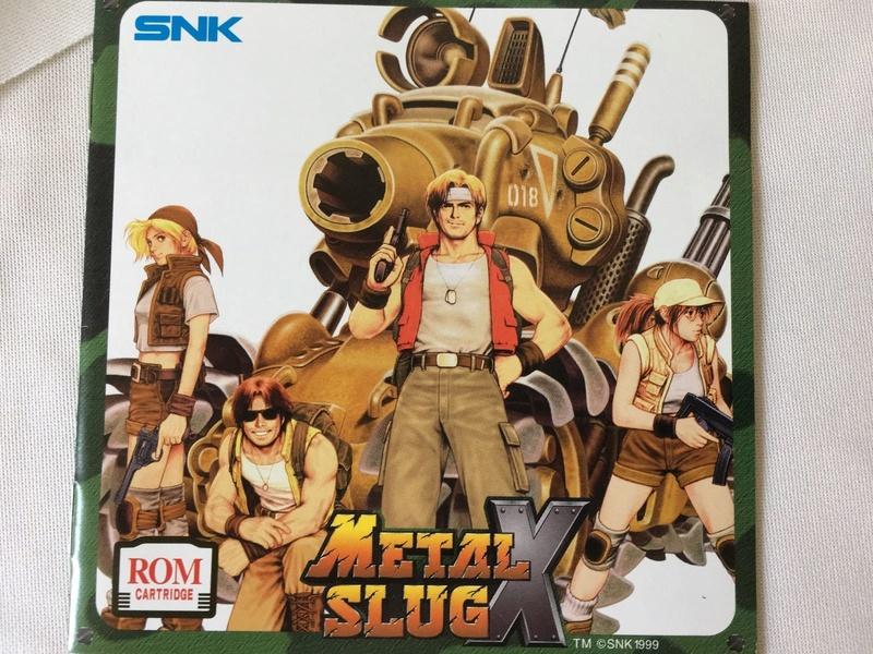 Metal Slug X US : faux ou pas ? S-l16013