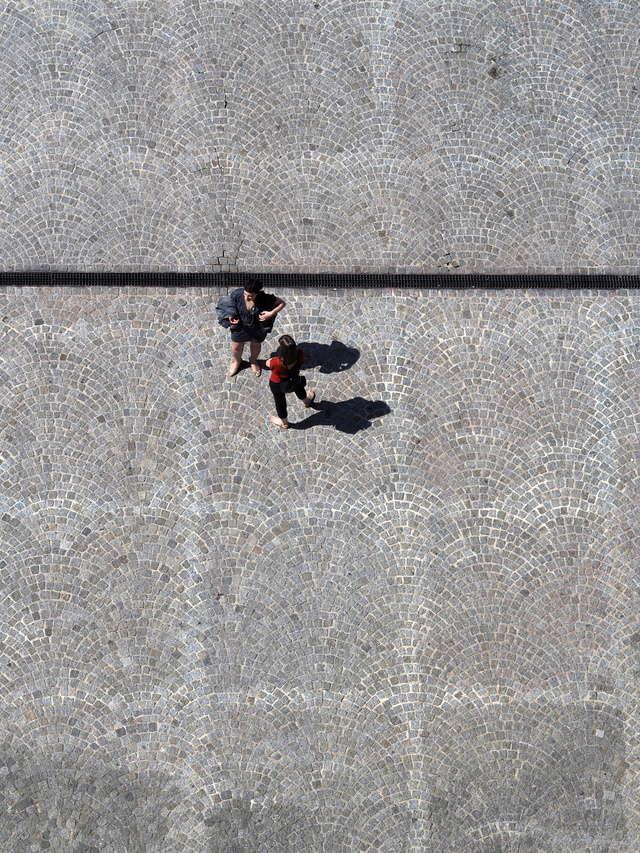 sur les pavés, les ombres P4201013
