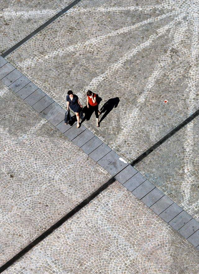 sur les pavés, les ombres P4201014
