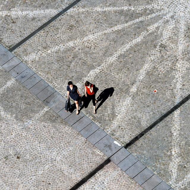sur les pavés, les ombres P4201015