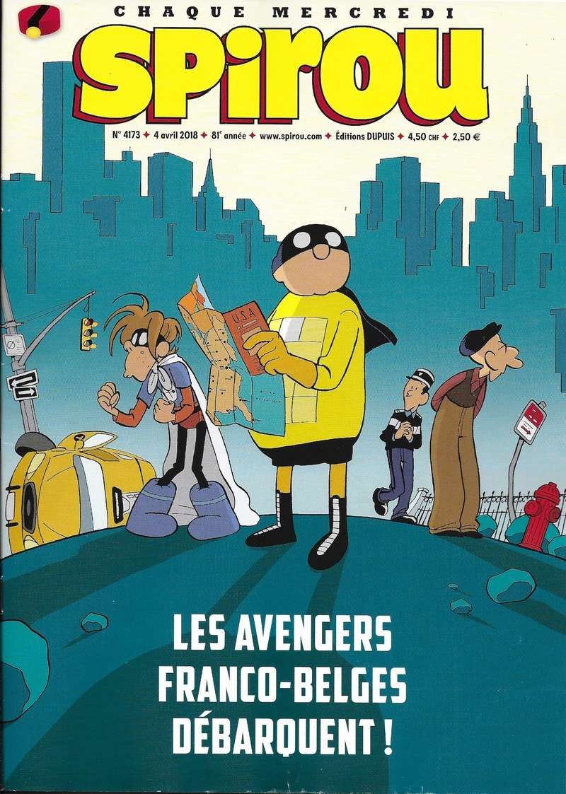 Spirou ... le journal - Page 22 Couver28