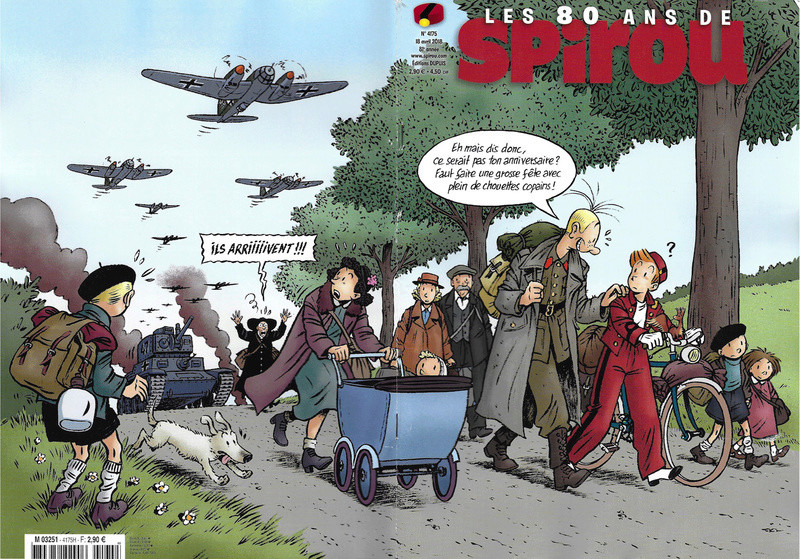 Spirou ... le journal - Page 22 Couver30