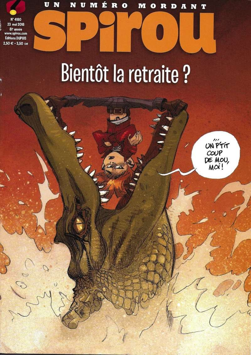 Spirou ... le journal - Page 23 Couver34