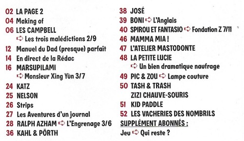 Spirou ... le journal - Page 22 Sommai30