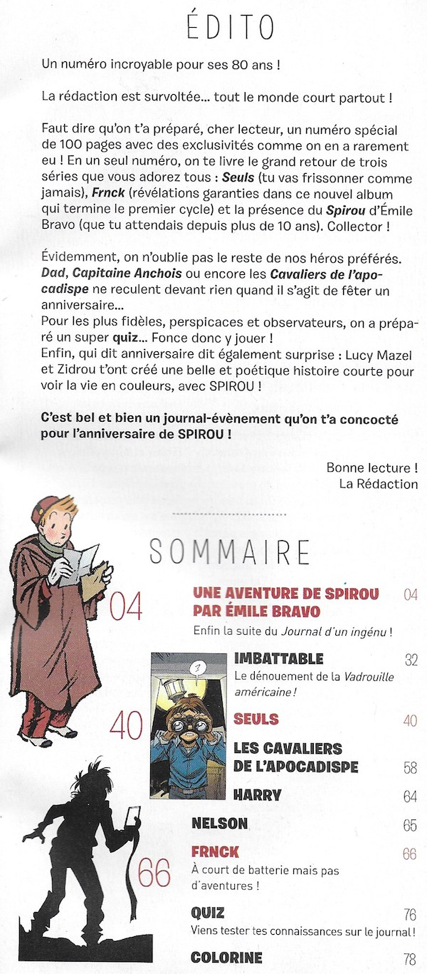 Spirou ... le journal - Page 22 Sommai34