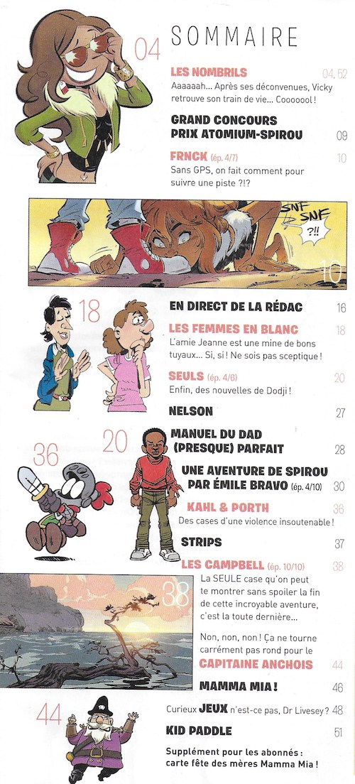 Spirou ... le journal - Page 23 Sommai36