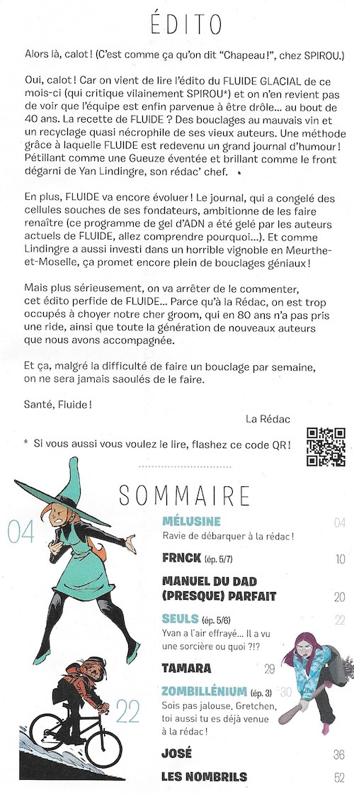 Spirou ... le journal - Page 23 Sommai37