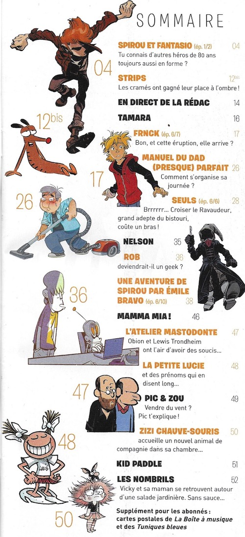Spirou ... le journal - Page 23 Sommai38