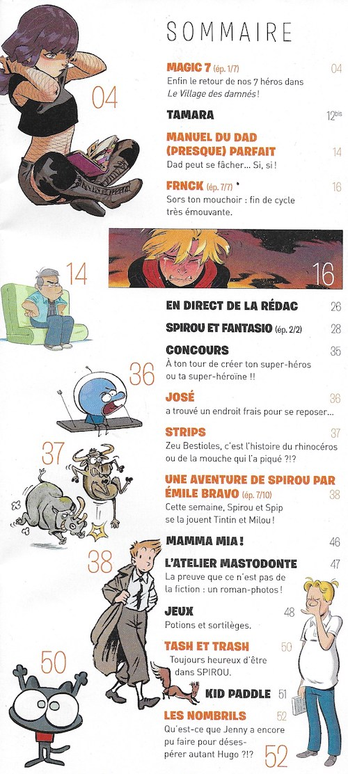 Spirou ... le journal - Page 23 Sommai39