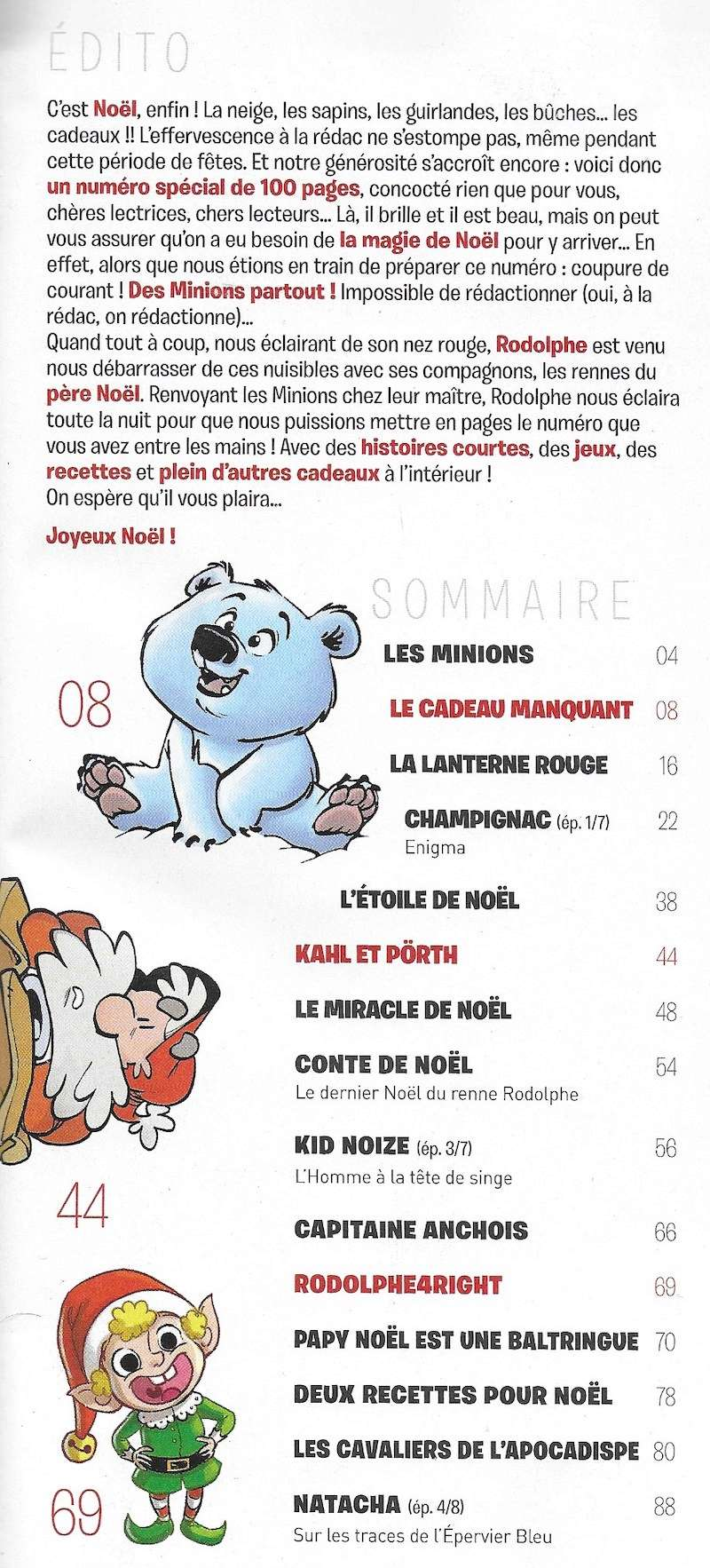 Spirou ... le journal - Page 25 Sommai40