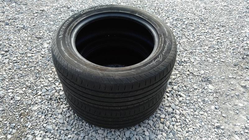 Lot de 2 pneus VREDESTEIN 235 / 55 R17 P_201812