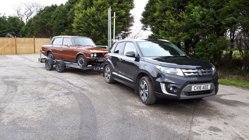 Towing with my Vitara   20180111