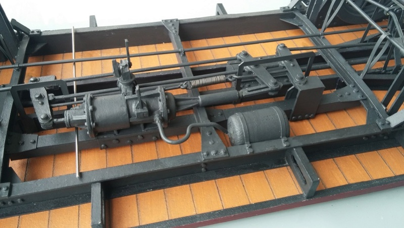 Baubericht Preuss. gedeckter Güterwagen G10 mit Bremserhaus, M 1:16 20171110